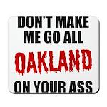 Oakland Football Mousepad