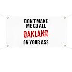 Oakland Football Banner