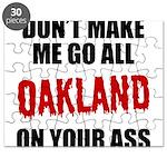 Oakland Football Puzzle