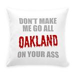 Oakland Football Everyday Pillow