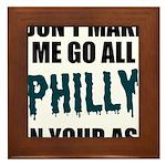 Philadelphia Football Framed Tile