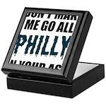 Philadelphia Football Keepsake Box