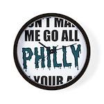 Philadelphia Football Wall Clock