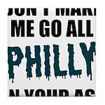 Philadelphia Football Tile Coaster