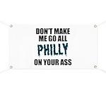 Philadelphia Football Banner