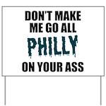 Philadelphia Football Yard Sign
