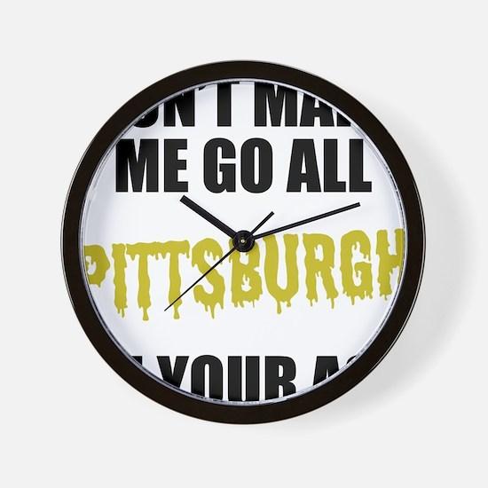 Pittsburgh Football Wall Clock