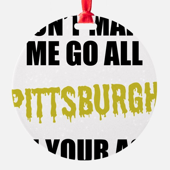 Pittsburgh Football Ornament