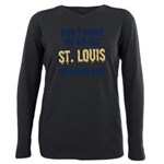St. Louis Football Plus Size Long Sleeve Tee