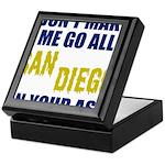 San Diego Football Keepsake Box