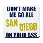 San Diego Football Mousepad