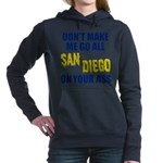 San Diego Football Women's Hooded Sweatshirt