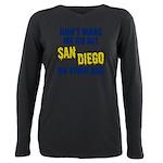 San Diego Football Plus Size Long Sleeve Tee