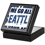 Seattle Football Keepsake Box
