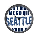Seattle Football Wall Clock