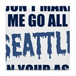 Seattle Football Tile Coaster
