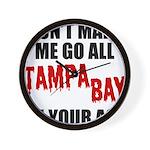 Tampa Bay Football Wall Clock