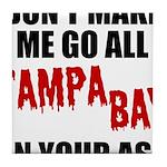 Tampa Bay Football Tile Coaster