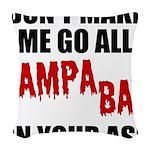Tampa Bay Football Woven Throw Pillow