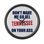 Tennessee Football Large Wall Clock