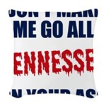 Tennessee Football Woven Throw Pillow