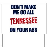 Tennessee Football Yard Sign