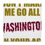 Washington Football Tile Coaster