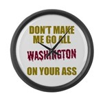 Washington Football Large Wall Clock