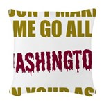 Washington Football Woven Throw Pillow