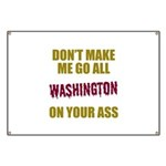 Washington Football Banner