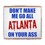 Atlanta Baseball Woven Blanket