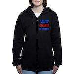 Atlanta Baseball Women's Zip Hoodie