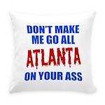 Atlanta Baseball Everyday Pillow