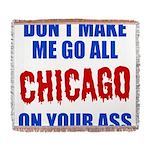 Chicago Baseball Woven Blanket