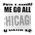 Chicago Baseball Woven Throw Pillow