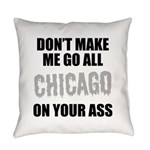 Chicago Baseball Everyday Pillow
