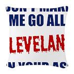 Cleveland Baseball Woven Throw Pillow