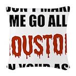 Houston Baseball Woven Throw Pillow