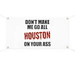 Houston Baseball Banner