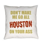 Houston Baseball Everyday Pillow