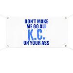 Kansas City Baseball Banner