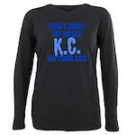 Kansas City Baseball Plus Size Long Sleeve Tee
