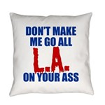 Los Angeles Baseball Everyday Pillow