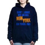 New York Baseball Women's Hooded Sweatshirt
