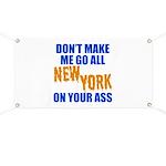 New York Baseball Banner