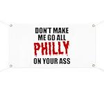 Philadelphia Baseball Banner