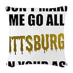 Pittsburgh Baseball Woven Throw Pillow