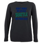 Seattle Baseball Plus Size Long Sleeve Tee