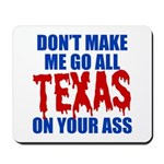 Texas Baseball Mousepad