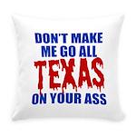 Texas Baseball Everyday Pillow